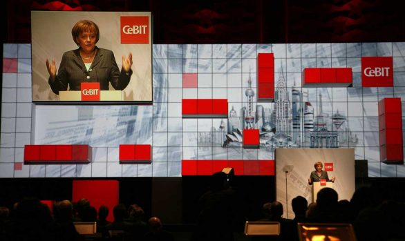 CeBIT Opening (© Deutsche Messe AG)