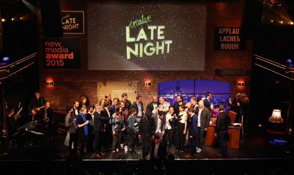 New Media Award Creative Late Night