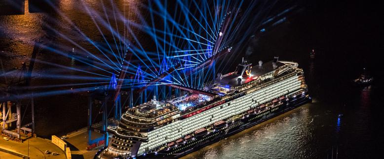 TUI Cruises / Mein Schiff 1 Naming Ceremony